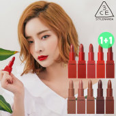 3CE RED RECIPE LIP COLOR + 3CE MOOD RECIPE LIP COLOR 1+1