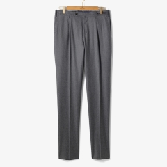 [PT01]SLIM FIT 1 PENCE WOOL PANTS GRAY/PT92M30002A13