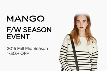 [망고] MANGO 2015 Fall Mid Season (최대 30% OFF)
